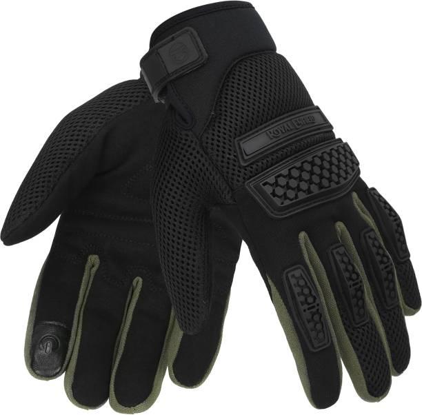ROYAL ENFIELD Urban Hustler (Rover V3) Riding Gloves Riding Gloves