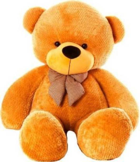 PRANEHA ENTERPRISES Soft Toys Lovable | Huggable Teddy Bear for Girlfriend | Haapy Birthday| Happy Anniversary | Gift | Boy | Girl | (Brown, 5 Feet)  - 152 cm