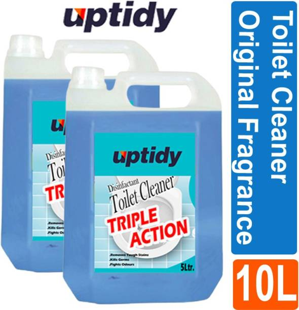 Up tidy Super clean Toilet Bowl Cleaner Original (Pack of 2) Original Liquid Toilet Cleaner