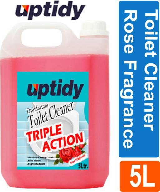 Up tidy Super clean Toilet Bowl Cleaner With Rose Fragrance Rose Liquid Toilet Cleaner