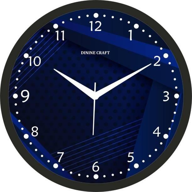 Dinine Craft Analog 31 cm X 31 cm Wall Clock