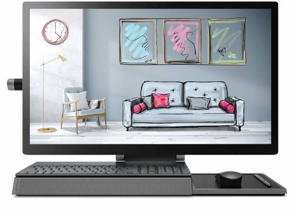 Lenovo Yoga Core i7 (16 GB DDR4/2 TB/Windows 10 Home/4 GB GDDR5/27 Inch Screen/A940 27ICB) with MS Office