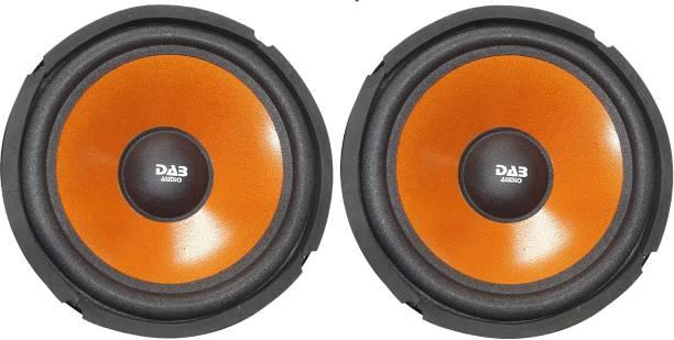 DAB 8 inch Orange Colored Pair 9017 Magnet 2 pieces Speaker Woofer Subwoofer
