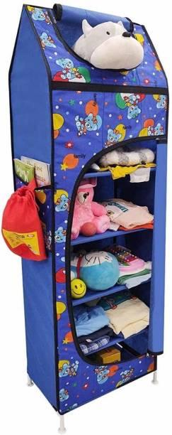 USPECH Baby Wardrobe Hut for Kids PVC Collapsible Wardrobe