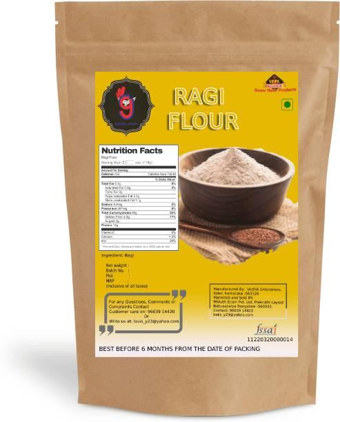 99Auth Premium Pure Ragi Flour/Finger Millet Flour Original No Adulteration 100g