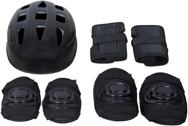 diego Skating Protective Kit for Skates,Cycling ,Skateboard Inline (Black Medium) Skating Guard Combo