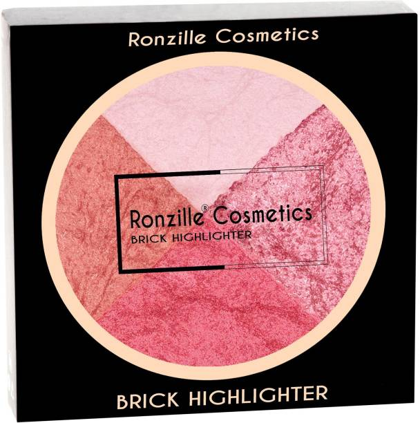 RONZILLE 4 in one Professional Brick Highlighter ( 04 No ) Highlighter