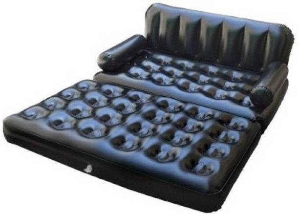 MEZIRE A 5in1 Sofa Bed PVC 3 Seater Inflatable Sofa
