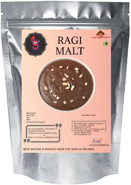 99Auth 500g Energy Enhance Original Pure Ragi Malt/Ragi powder malt for babies No Preservative