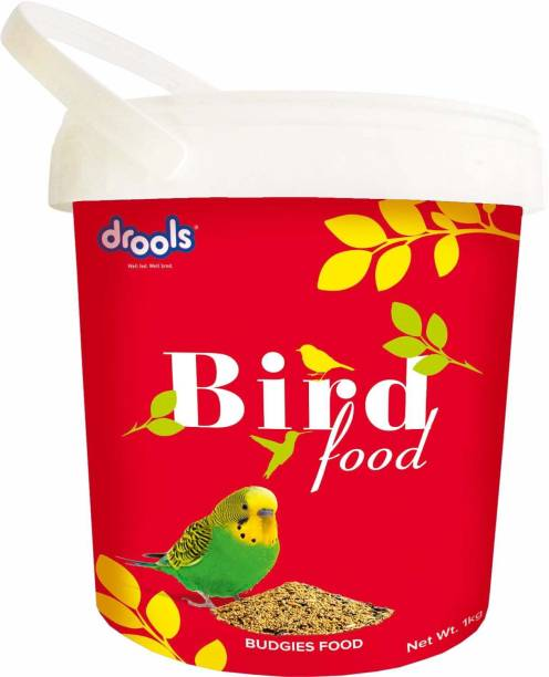 drools Food for Budgies 1 kg Dry Adult Bird Food
