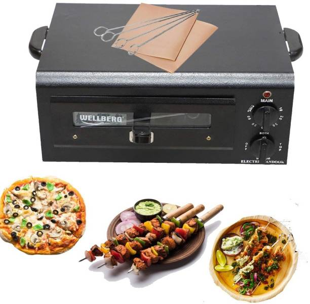WELLBERG AUTOMATIC TIMER PIZZA OVEN Electric Tandoor