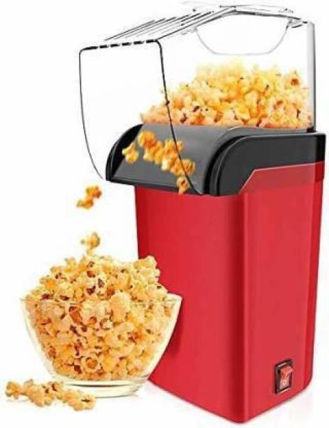 RNASUN POPCORN MACHINE POPCORN ELECTRIC MACHINE MARRON AND BLACK COLOR 1 L Popcorn Maker