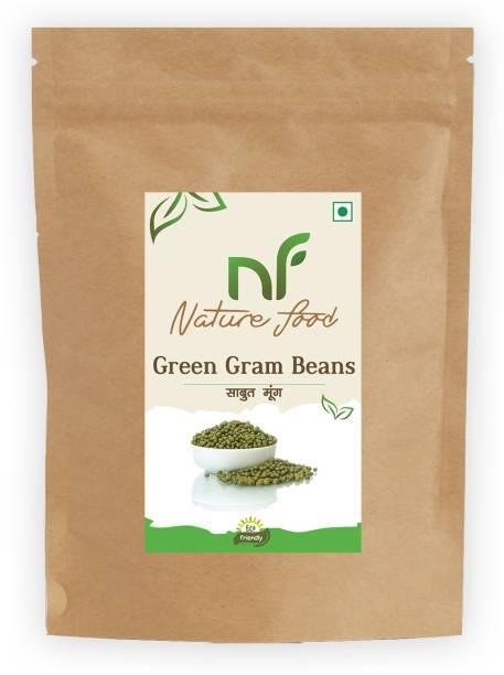 Nature food Green Moong Dal (Whole)