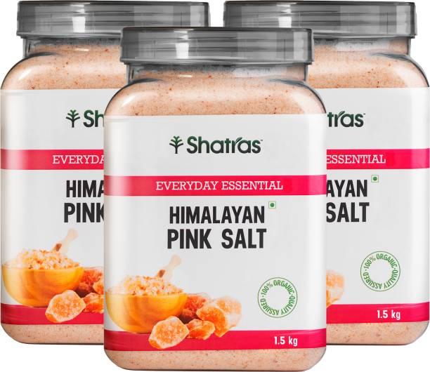 Shatras Pink Salt with More Than 80+ Minerals Namak - Himalayan Pink Salt