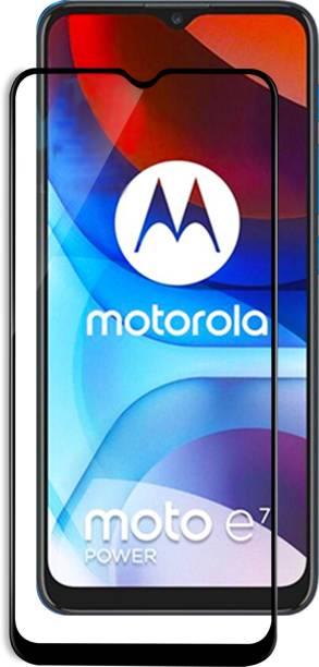 VAlight Edge To Edge Tempered Glass for Motorola Moto E7 Power