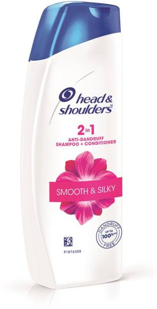 HEAD & SHOULDERS Smooth and Silky 2-in-1 Anti-Dandruff Shampoo Plus Conditioner