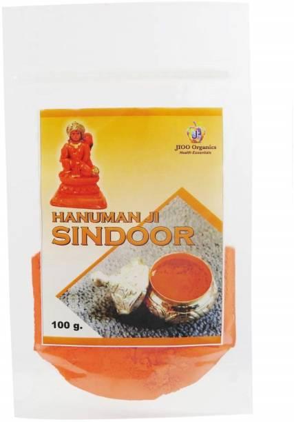 Jioo Organics Hanuman Sindoor, Orange Sindoor Powder Hanumanji Sindoor