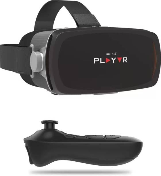IRUSU Playvr VR Premium headset with remote.Best VR Box headset for smartphones with gyroscope sensor