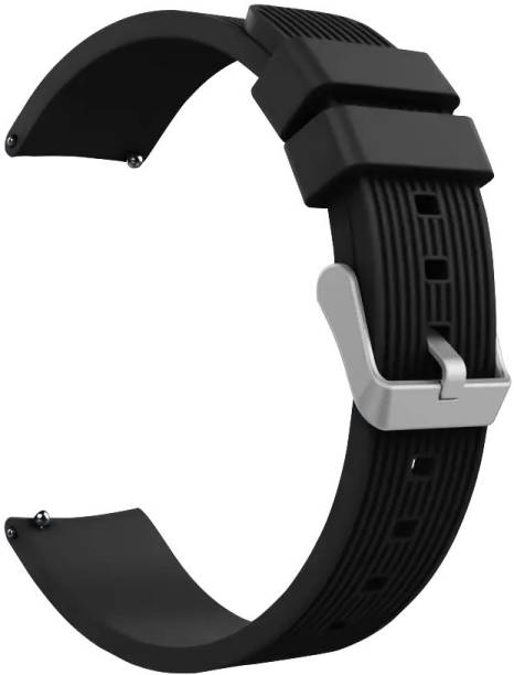 RJR Soft Silicon 22mm Band Strap Compatible for Galaxy Watch 3 45mm/Galaxy 46mm/Gear S3 Frontier,Classic/Amazfit Pace Stratos,Stratos+,Stratos3/Huawei GT2 46mm/Honor Magic Watch 2(46mm)&Any Smartwatch with 22mm Lugs Smart Watch Strap