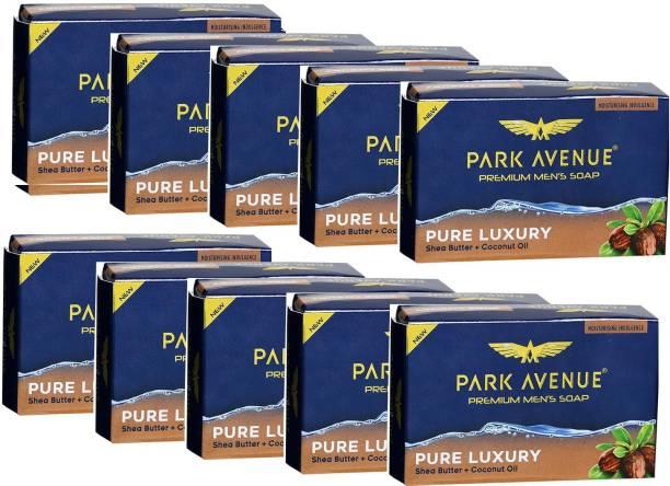 PARK AVENUE Luxury Fragrant Soap 125g × 10 Pack Of 10