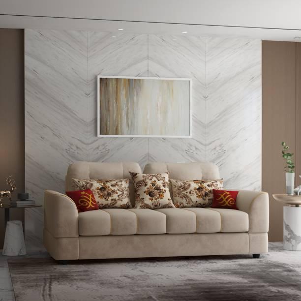 House of Pataudi Celina Fabric 3 Seater  Sofa
