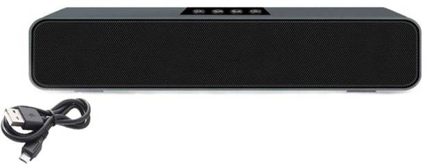 Potasa HD Sound E-91 Portable Wireless Bluetooth Speaker with 1200Mah Battery Capacity 10 W Bluetooth Soundbar