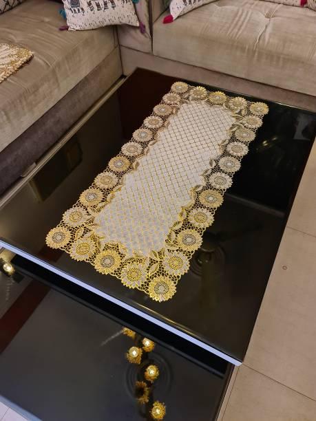 DELHI PVC CORP Gold 80 cm Table Runner