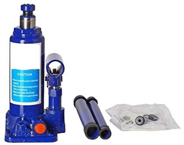Enamic UK Super Premium Heavy Car Hydraulic Jack for All Cars (Universal) (Blue & Red) G-100 Vehicle Jack