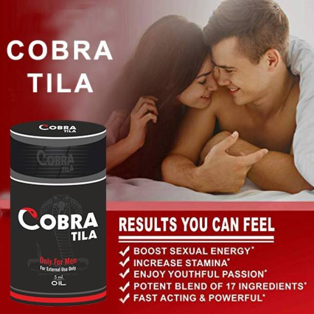CIPZER Cobra Tila | P@N^S Massage Oil | P@N^S Enlargment Massage Oil