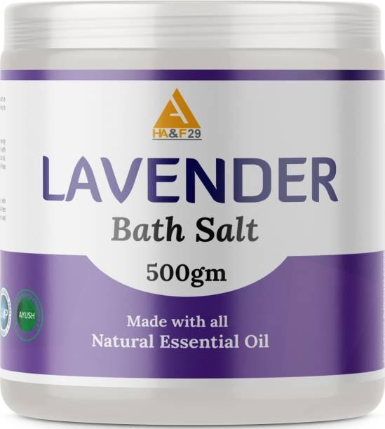 HA&F 29 ENTERPRISES LAVENDER EPSOM SALT For Bath Sleep Foot Relaxing Soothing Softer Skin (Bath Salt)