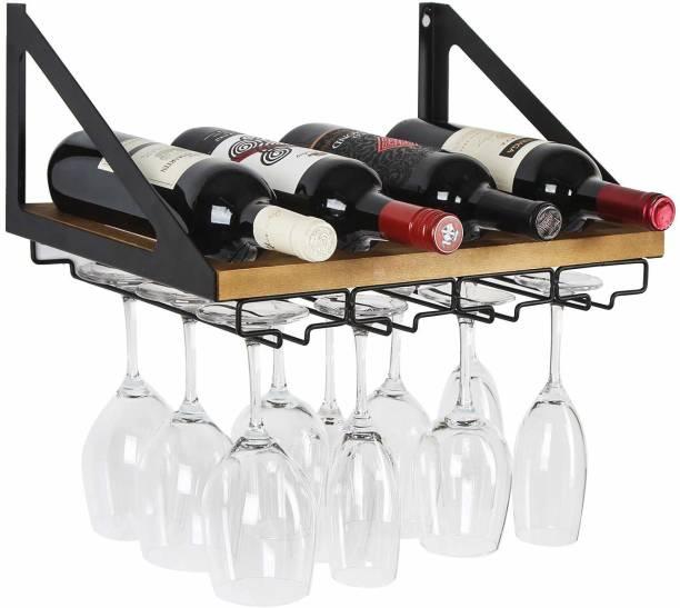 PRITI Wooden Wine Rack
