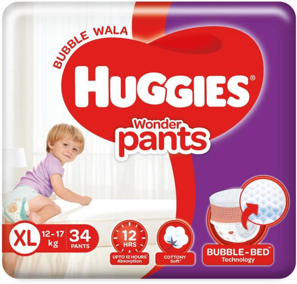 Huggies Wonder Pants Extra Large Size Diapers - XL