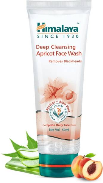 HIMALAYA Since 1930 Deep Cleansing Apricot  50ml Pack of 5 Face Wash
