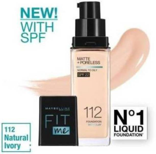 MAYBELLINE NEW YORK fit me_112 Foundation