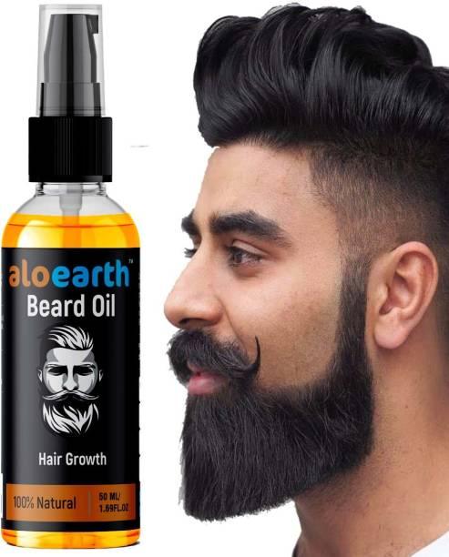 Aloearth Powerful Beard Growth Oil Hair Oil