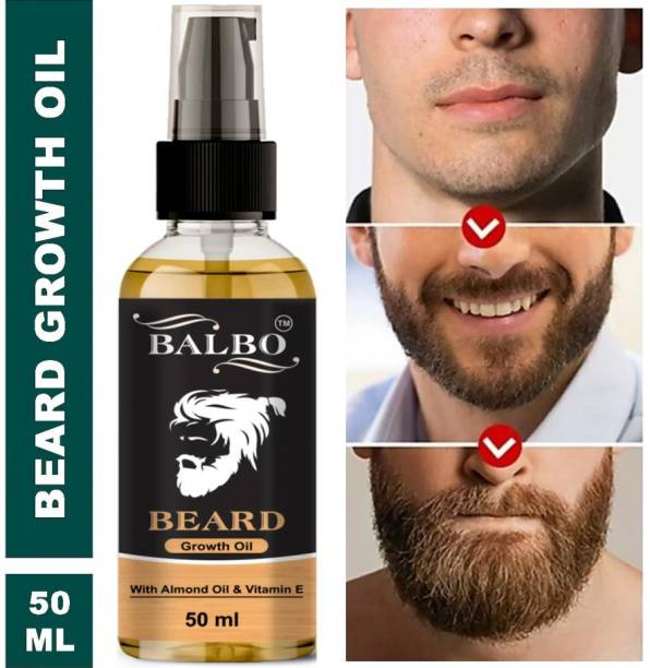BALBO Advanced Beard Growth Oil For Men (SLS & Parabean Free) Hair Oil (50 ml)  Hair Oil