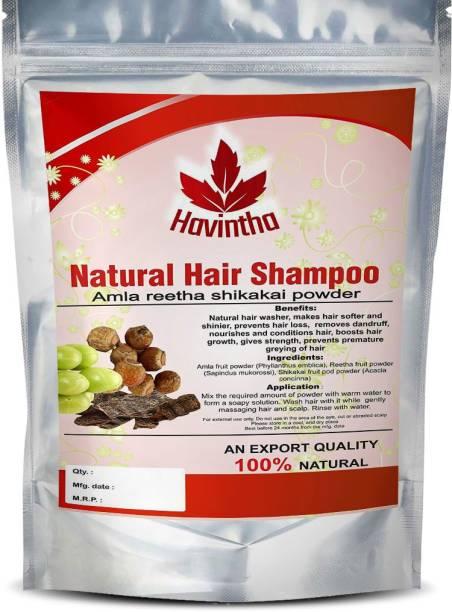 Havintha Natural Hair Shampoo for Hair,AMLA REETHA SHIKAKAI POWDER