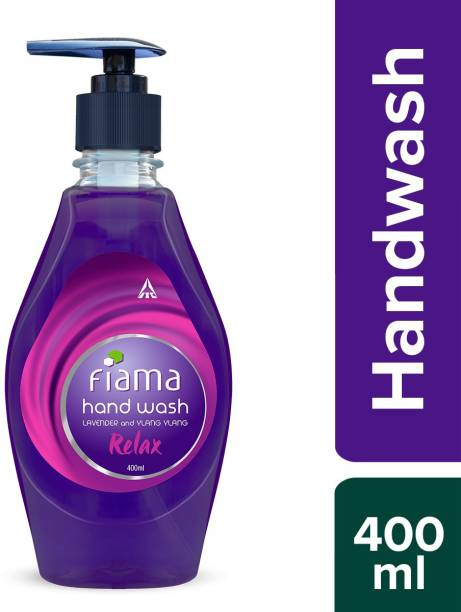 Fiama Relax hand wash, Lavender and Ylang Ylang, 400ml Hand Wash Bottle