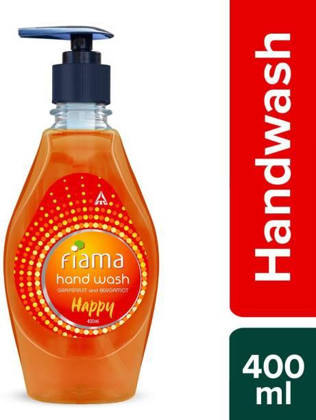Fiama Happy hand wash, Grapefruit and Bergamot,400ml Hand Wash Bottle