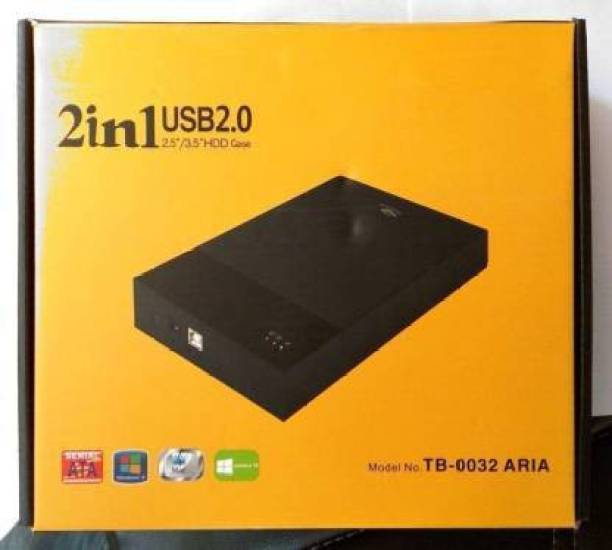 TERABYTE Desktop and Laptop 3.5 inch 2.5 Inch Sata Hard Disk Casing Enclosure 2.5 inch HDD case