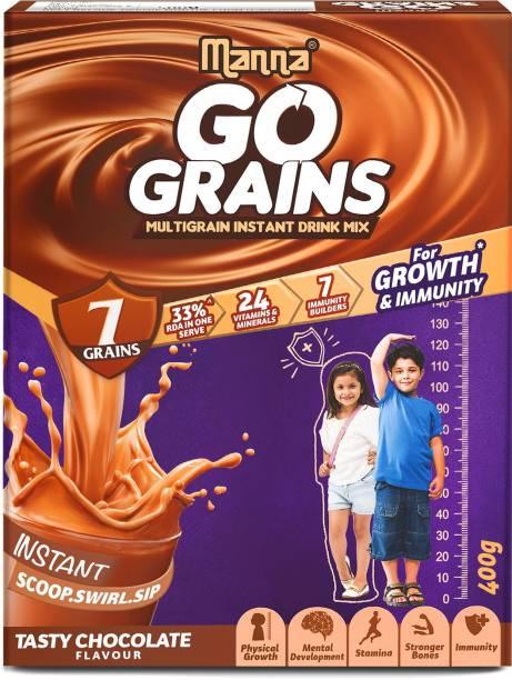 Manna Multigrain Instant Drink Mix Chocolate Flavour