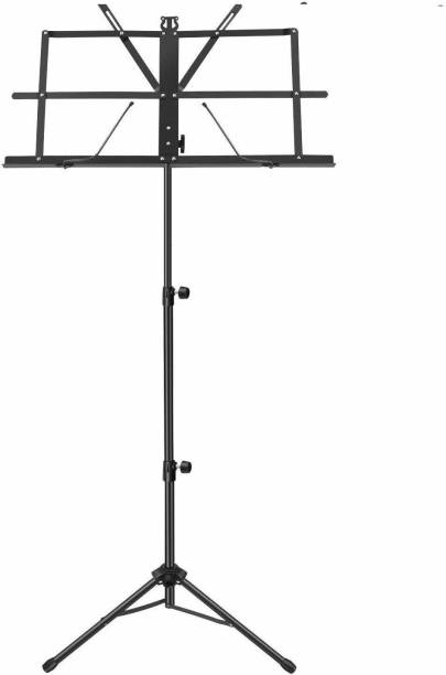 SOUVENIR Adjustable Portable Folding Light Weight Sheet Notation Stand and Clip Holder for Books, Notes, Violin, Lyrics with Carry Bag Notation Stand Notation Stand