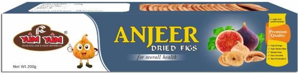 YUM YUM Premium Dried Figs (Anjeer) 200g Figs
