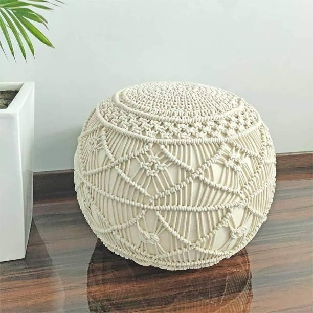 Home Stylish Fabric Pouf