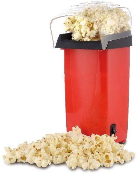 SOLO MART Lifestyle ilo 1200-W Hot Air Popcorn, Popper Electric Machine Snack Maker, with Measuring Cup and Removable Lid (Red) POPCORN_MAKER 1 L Popcorn Maker