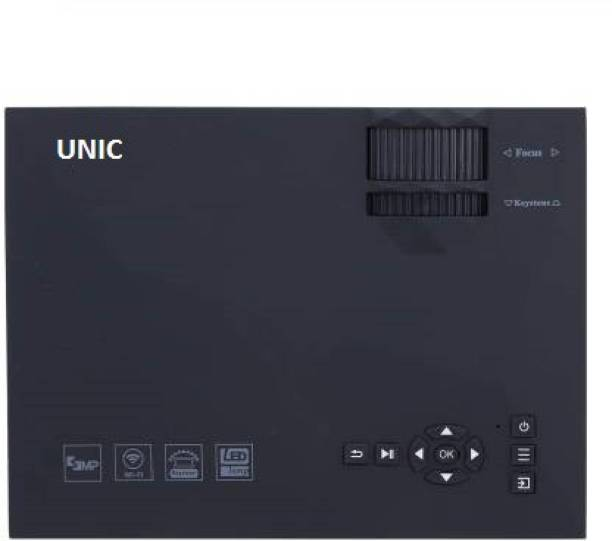 UNIC UC 46 1800 lm LED Corded Portable Projector