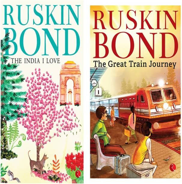 The Great Train Journey + The India I Love (Set Of 2 Books)