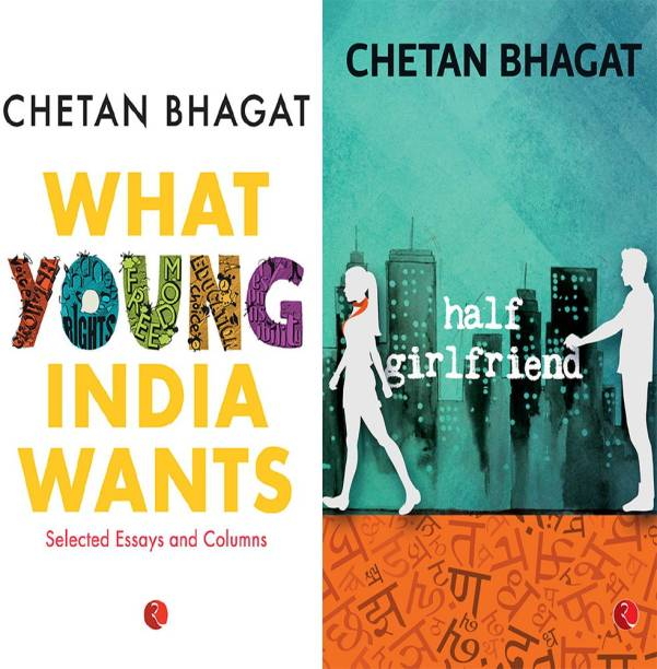 Half Girlfriend + What Young India Wants: Selected Non - Fiction (Set Of 2 Books)