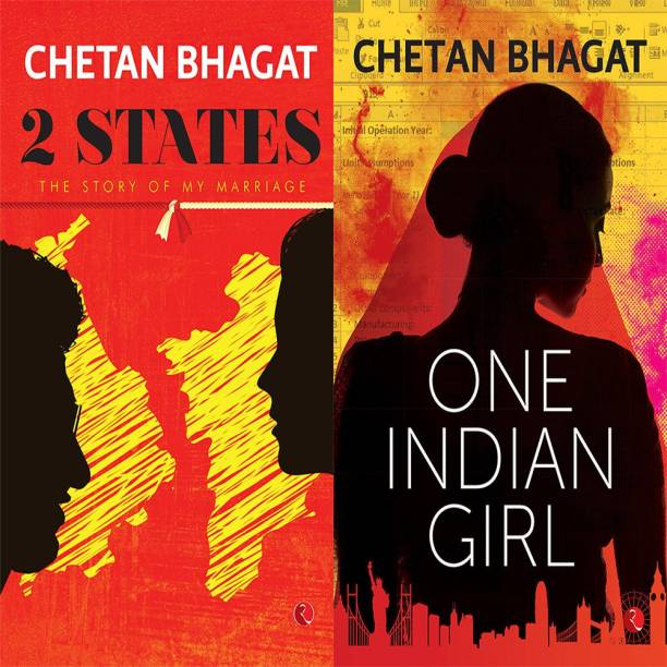 One Indian Girl + 2 States: The Story Of My Marriage (Set Of 2 Books)