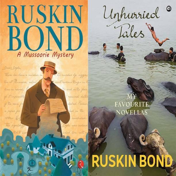 Unhurried Tales: My Favourite Novellas + Ruskin Bond A Mussoorie Mystery (Set Of 2 Books)
